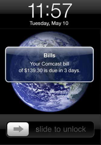 time to pay your bills